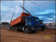 Camión de obra 6X6