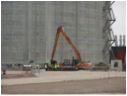 Excavadora brazo largo CASE 240 CX