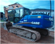 Excavadora cadenas Case CX-240 B