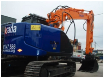 Minipala HITACHI ZX 135US-3