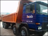 Camión de obra 4 ejes Pegaso 2431 K