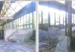 demolición desmantelamiento Pozo Mosquitera Hunosa