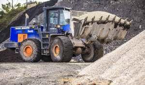maquinaria operada minería