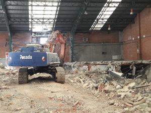 demolición edificaciones Valladolid