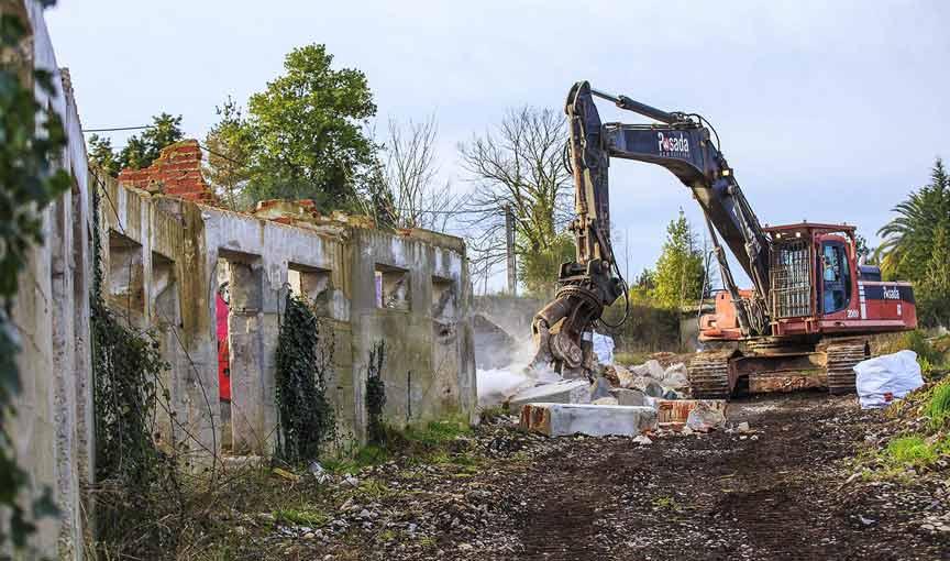 demolición obras industriales