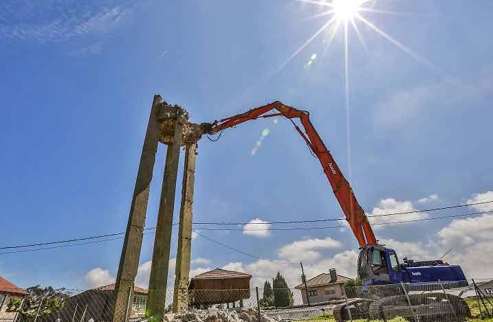 demoliciones en altura