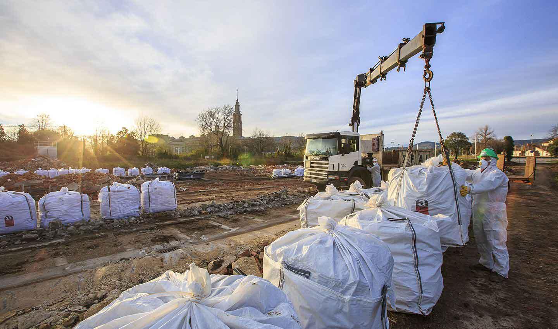 gestion de residuos construccion y demolicion