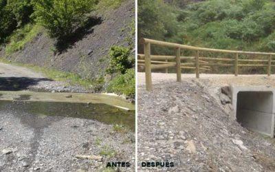 obra de paso en Parana Asturias