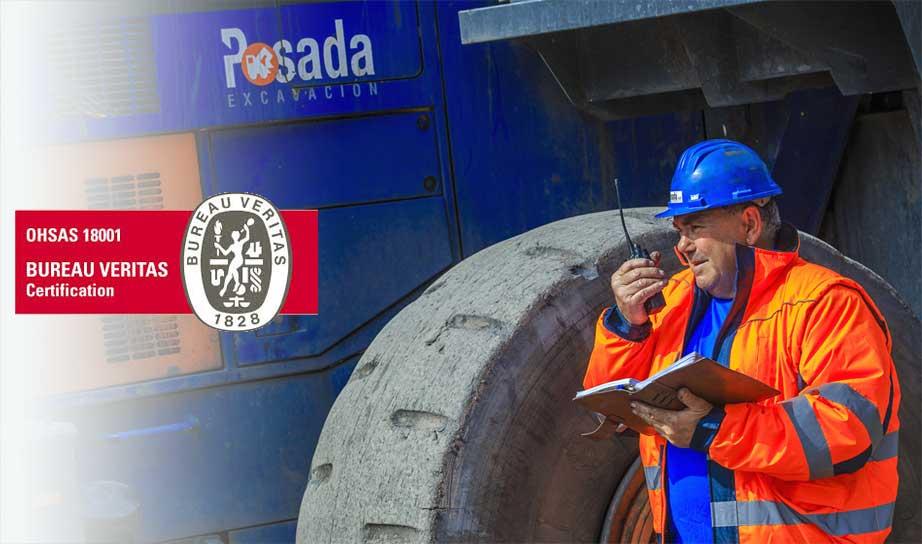 certificación seguridad salud laboral Posada Organización