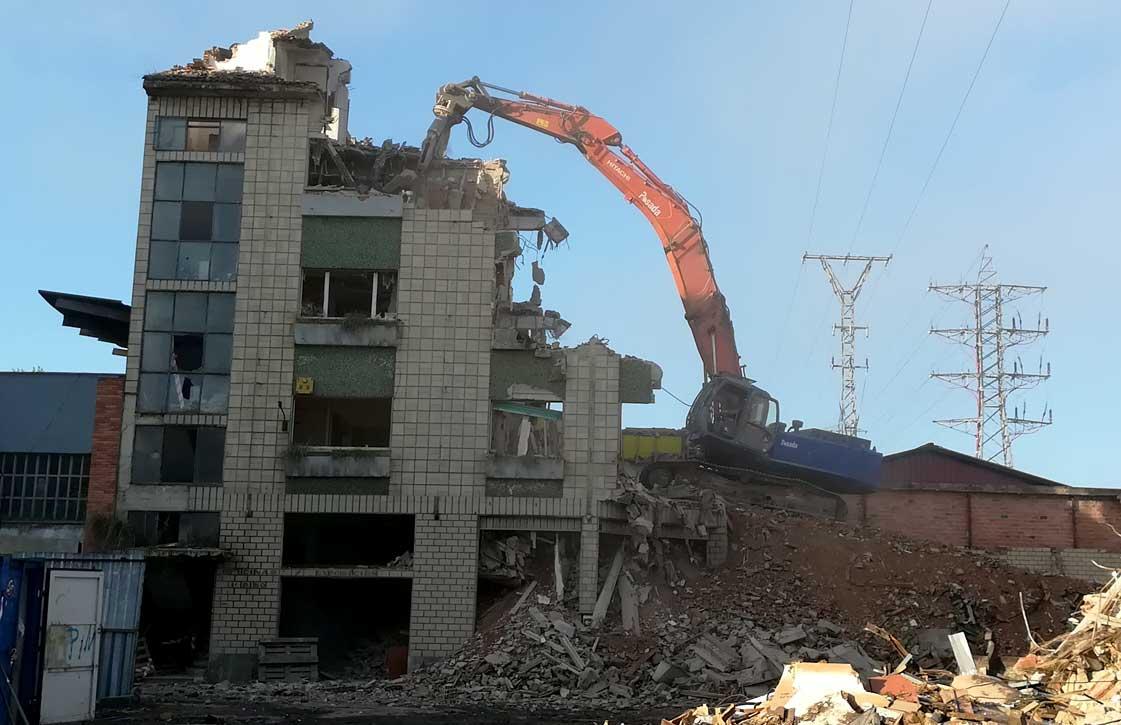 demolicion edificio muebles campa asturias