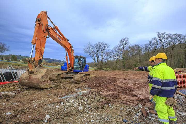 personal alquiler maquinaria pesada construcción