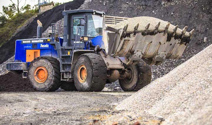 maquinaria operada alquiler para minería