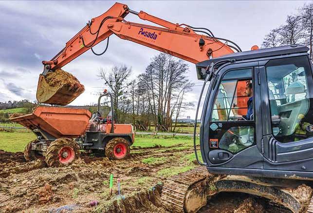 movimientos de tierras y excavaciones
