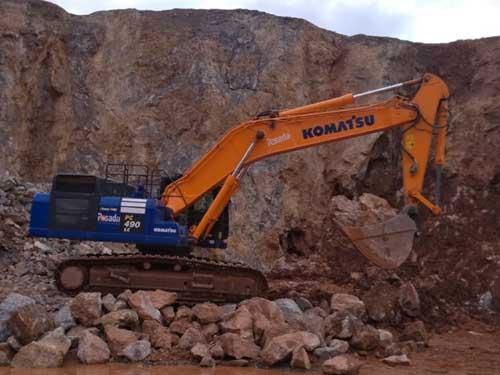 KOMATSU-490 LC10-Q | 38-45 Tn.