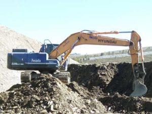 Excavadora sobre orugas Hyundai R220