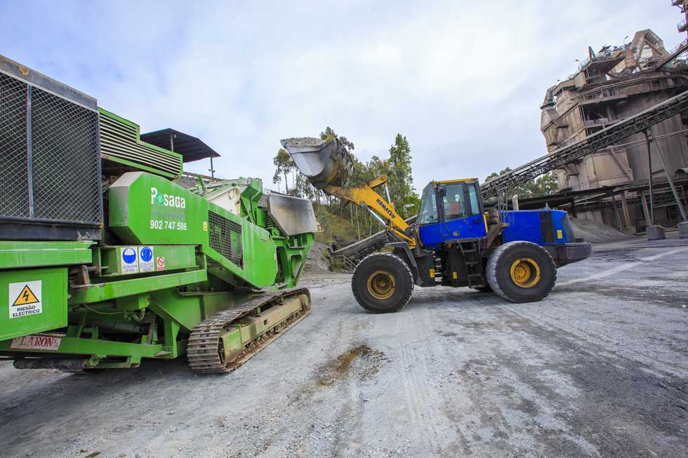 molienda residuos construccion demolicion