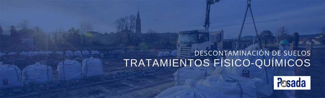 tecnicas descontaminacion suelos tratamientos físicos quimicos