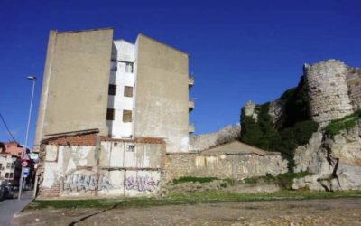 demolicion de edificio en Zamora