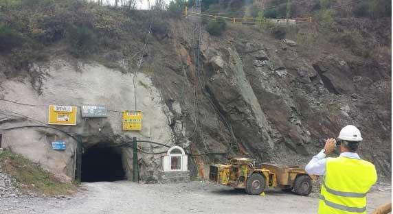 desbroce accesos mina oro Carlés Asturias